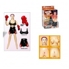 Boxing Babe Şişme Kadın