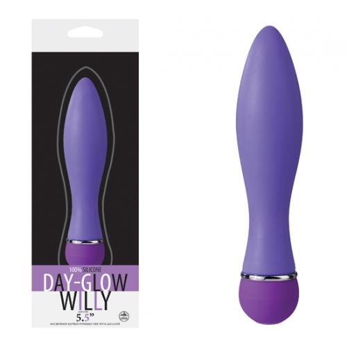Day Glow Willy Modern Vibratör - Mavi