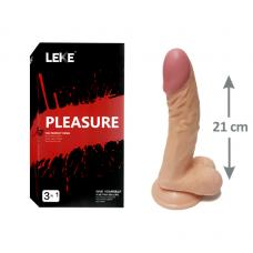 Pleasure 21cm Testisli Gerçekçi Dildo